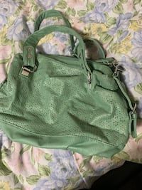 Green and gray floral backpack Fairfax, 22031