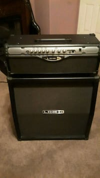 black and gray Line 6 guitar amplifier Norco, 92860