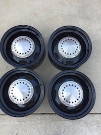 four gray bullet hole vehicle wheels and tires 2259 mi