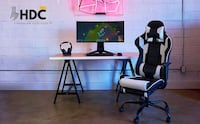 Gaming Chair With Leg Extension