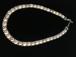 925 pastel pearl necklace