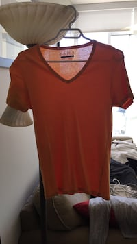 Orange Zara slim fit men's t shirt  Calgary, T2G