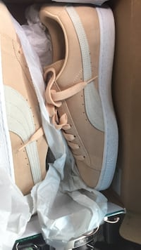 beige-and-white PUMA Suede sneakers with box Baton Rouge, 70816