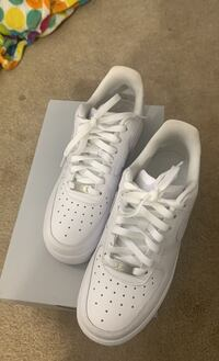 Women's Size 8 White Nike Air Force 1's Damascus, 20872