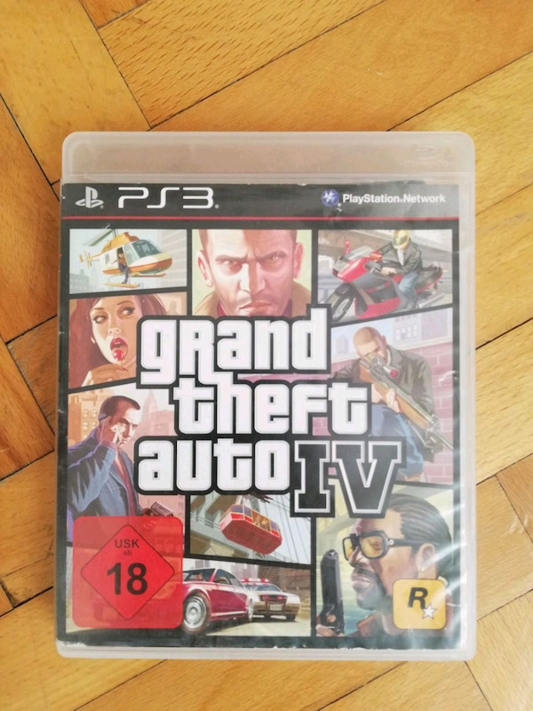 Ps3 GTA IV OYUN CD