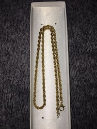14k GP Rope Chain Whitby, L1R 2E4