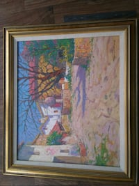 Gorgeous vintage signed painting