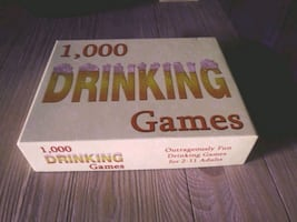 Box of 1,000 Drinking Games