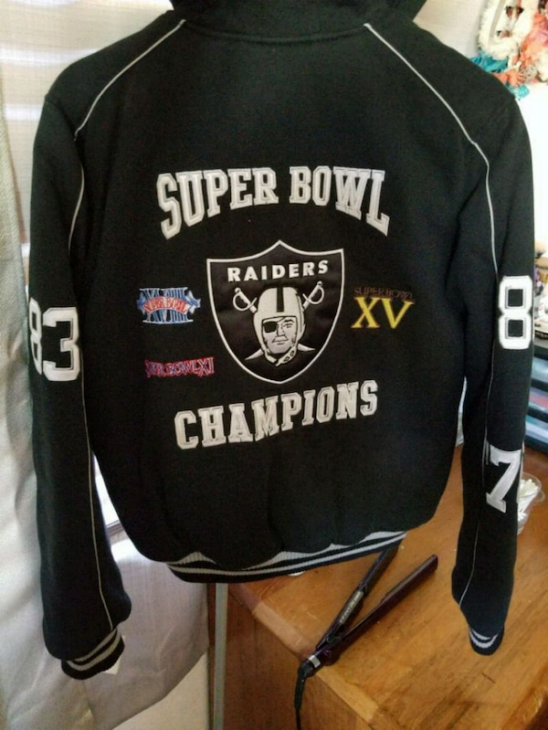 timeless design 1858a c08b8 Womens Oakland Raiders letterman jacket