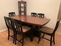 Solid Wood Dining table & 6 dining chairs Surrey, V4N 0W2