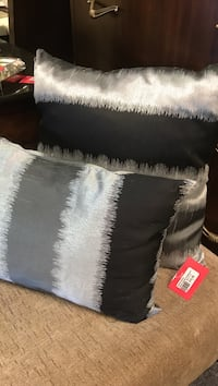 Grey satin pillow  Mississauga, L4X 1L9