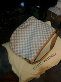 white and brown Louis Vuitton monogram handbag Silver Spring, 20906