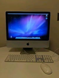 iMac with keyboard and mouse 37 km