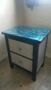 End table solid wood