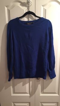 Blue Cashmere Sweater Langley, V3A 3M8