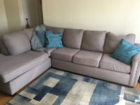 Lightly used Sectional - Don mills and Lawrence Toronto