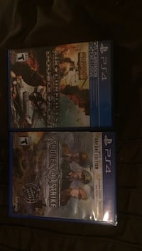 two Sony PS4 game cases Quinte West, K8V 5P8