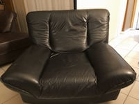 Real black leather chair Miami, 33183