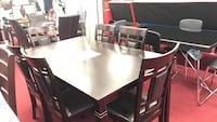 NEW 6 table dining set