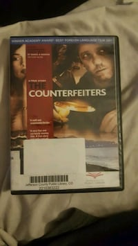 DVD- The Counterfeiters Arvada, 80004