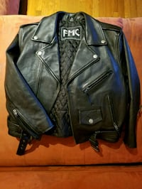 Genuine Leather Motorcycle Jacket & Plum Jacket Silver Spring, 20904