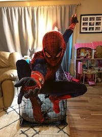 Cardboard retail Spider-Man poster. Very rare and looks awesome.58inches tall by 36inches wide Yorba Linda, 92886