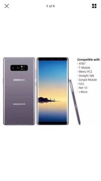 Samsung Galaxy Note 8 Factory Unlocked from Samsung Mint Condition Fairfax, 22033