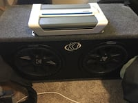 black Kicker subwoofer with enclosure Wikiup, 95403