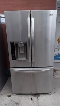 Lg French door refrigerator stainless steel with warranty