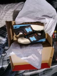 New balances brand new size 3 for a boy$25 firm on that bc cost 65