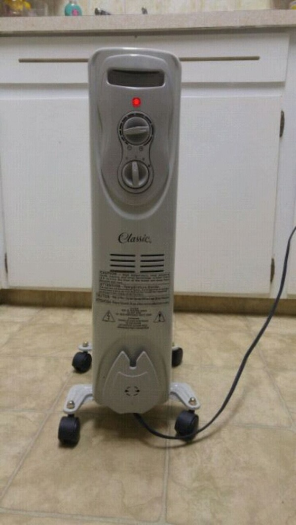 Oil filled heater, energy efficient