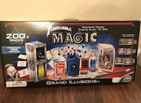 Brand new sealed in box Magic kit grand illusions over 200 tricks Concord, 94518