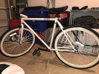 white and black road bike Frederick, 21703