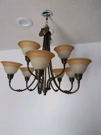 Beautiful ceiling kitchen lamps in very good condition