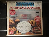 Microwave Perfect Fat Reducing Crisping Tray - Brand New & Unused New York