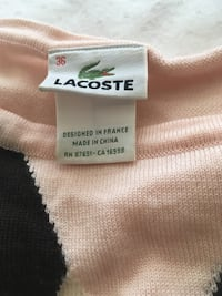 Lacoste wool sweater - authentic  Toronto, M6M 1L3