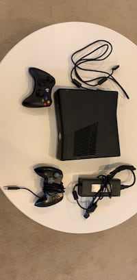 Used  XBOX 360 Console with controllers and cables Silver Spring, 20910