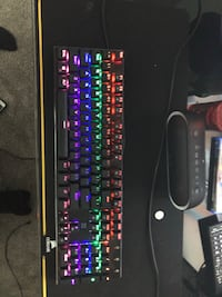 Extreme gaming mechanical keyboard