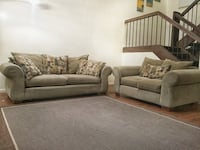 Green olive couch and loveseat Columbia, 29210