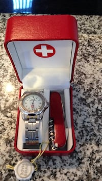 Swiss Military stainless steel men's watch with Swiss knife Richmond Hill, L4S 2M7