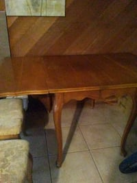 brown wooden drop leaf table Tempe, 85283