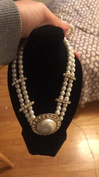 Vintage pearl necklace King Of Prussia, 19406