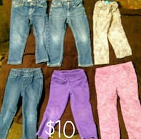 Toddler Pants Size 3T PICK UP ONLY North East side Bakersfield, 93305