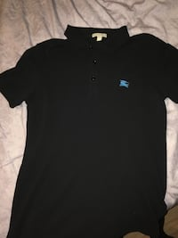 black and blue button-up polo shirt Barrie, L4N 9S1