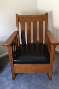Antique mission chairs