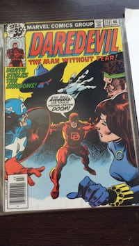 Marvel Daredevil comic book
