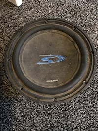 black and gray Pioneer subwoofer Commerce City, 80022