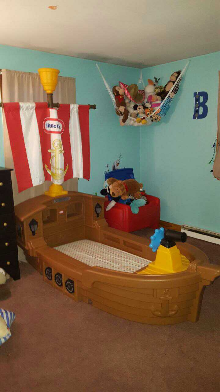 ... Pirate Ship Toddler Bed Little Tikes Beautiful ...