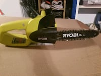 black and green Ryobi chainsaw Versailles, 40383
