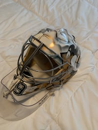 MA Fleury painted mask by Don Scott
